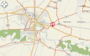 Locatie circuit VIK Arad